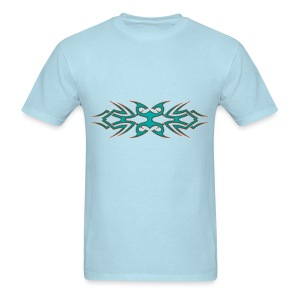 Tribal Turquoise - Men's T-Shirt
