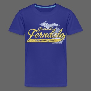 Fashionable Ferndale Michigan - Kids' Premium T-Shirt