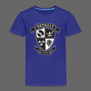A Detroit Crest - Toddler Premium T-Shirt