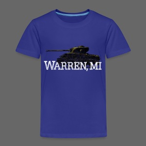 Warren, Michigan - Toddler Premium T-Shirt