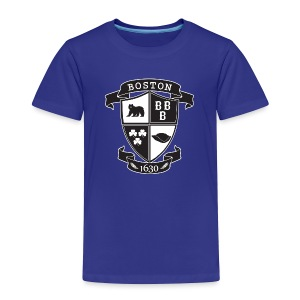 A Boston Crest - Toddler Premium T-Shirt