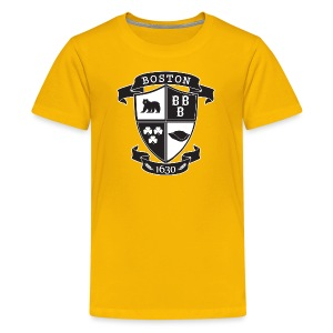 A Boston Crest - Kids' Premium T-Shirt