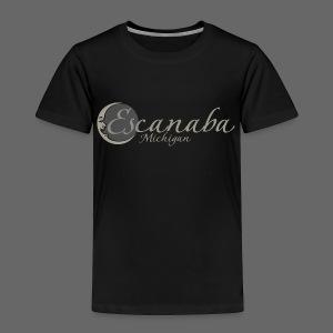 Escanaba, Mi - Toddler Premium T-Shirt