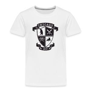 A Chicago Crest - Toddler Premium T-Shirt