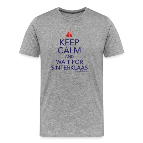 Keep Calm - Sinterklaas - Men's Premium T-Shirt