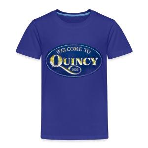 Quincy, Mass - Toddler Premium T-Shirt