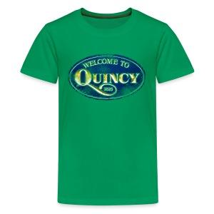 Quincy, Mass - Kids' Premium T-Shirt