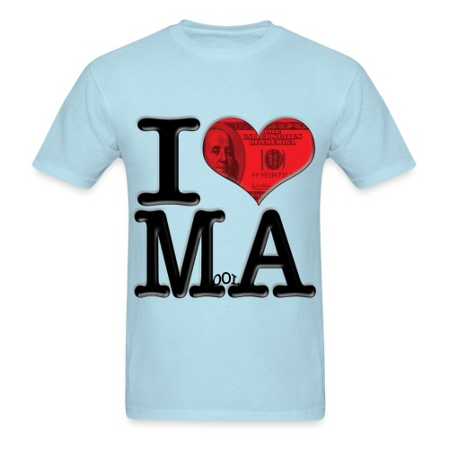 I Love MoolA - Men's T-Shirt