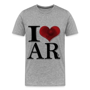 I Love AReola - Men's Premium T-Shirt
