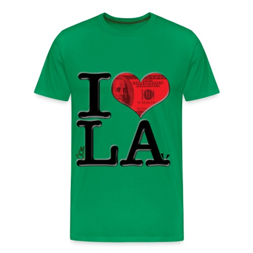 I Love mooLA - Men's Premium T-Shirt