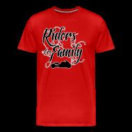 T-Shirts ~ Men's Premium T-Shirt ~ S&S RIDERS ARE FAMILY