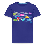 Kids' Shirts ~ Kids' Premium T-Shirt ~ Fishies! - Kids