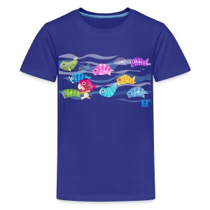 Fishies! - Kids - Kids' Premium T-Shirt