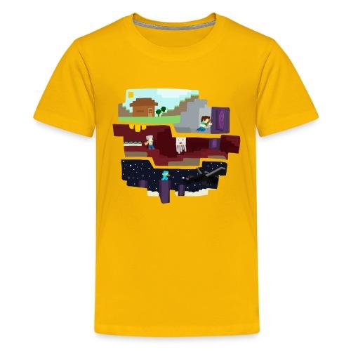 Beginning to End (Kids) - Kids' Premium T-Shirt