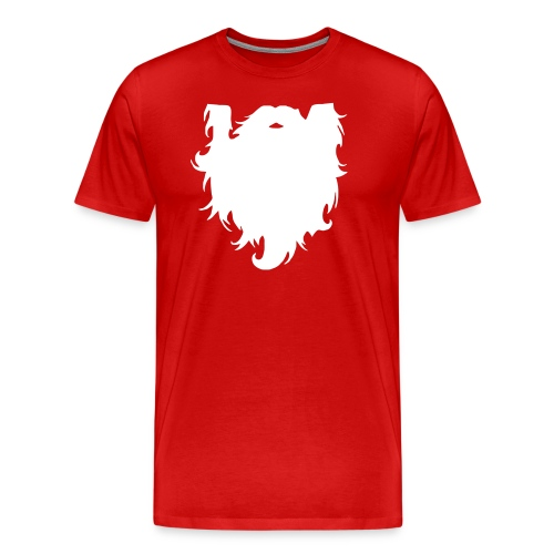 Santa Beard - Men's Premium T-Shirt