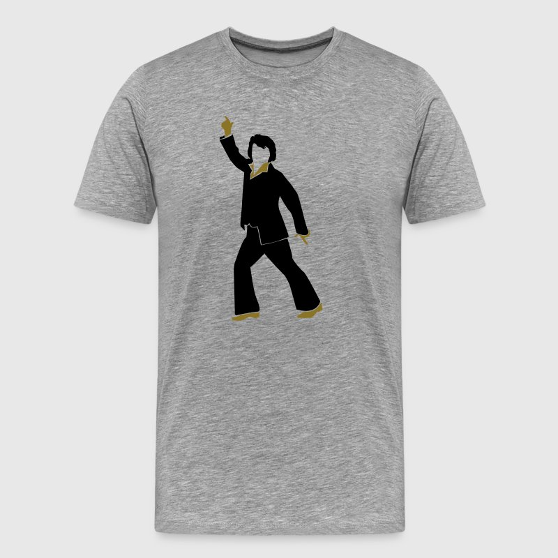 Elvis disco dancer Shirt - Men's Premium T-Shirt