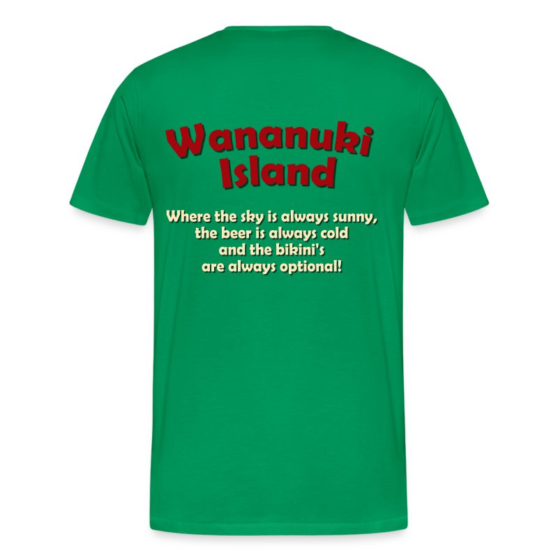 Wananuki Surfing - Men's Premium T-Shirt