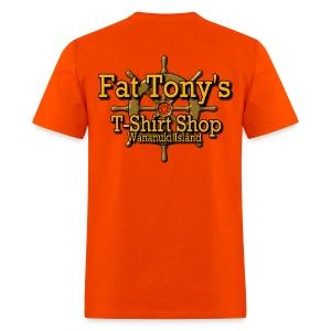 Fat Tony's  Bus - Men's T-Shirt