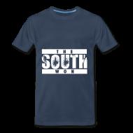 T-Shirts ~ Men's Premium T-Shirt ~ The South Won (Blue)