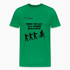 Cycling T Shirt - There's No Gas in a Zombie Apoca
