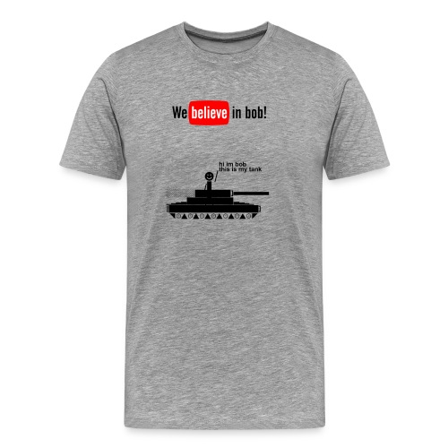Bob Tank 3XL / 4XL - Men's Premium T-Shirt