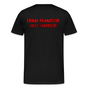 Train Smarter Not Harder Tee - Men's Premium T-Shirt