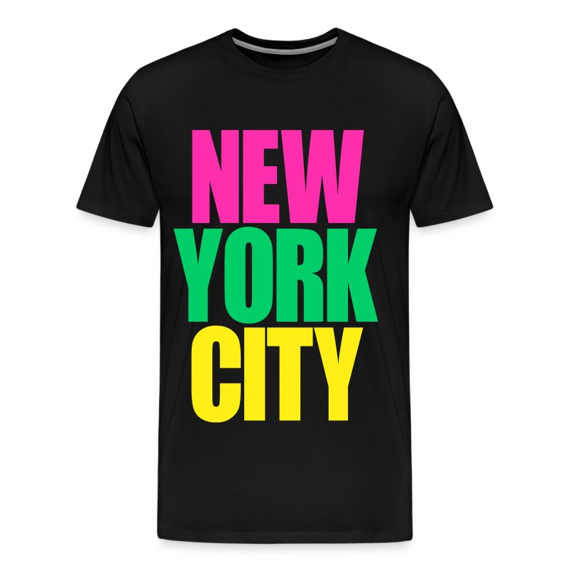 New york city colors t shirt spreadshirt for New york city tee shirts