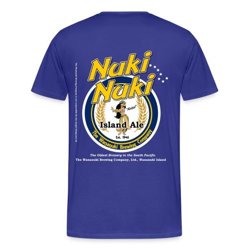 Nuki Nuki Island Ale - Men's Premium T-Shirt