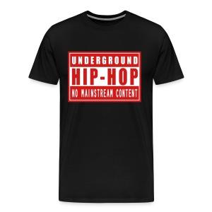 Underground HipHop - Men's Premium T-Shirt
