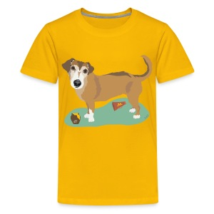 Kids' Tee | School Spirit with Honey - Kids' Premium T-Shirt