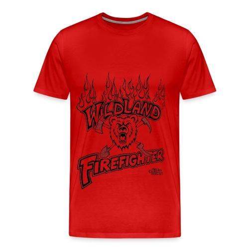 Wildland Firefighter - Men's Premium T-Shirt