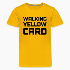 Walking Yellow Card Youth Tee