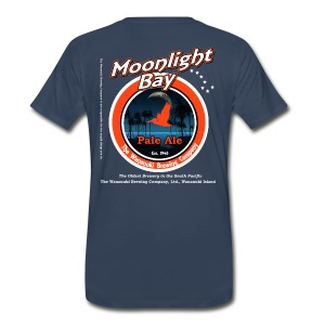 Moonlight Bay Pale Ale  - Men's Premium T-Shirt