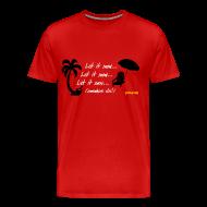 T-Shirts ~ Men's Premium T-Shirt ~ Let It Snow
