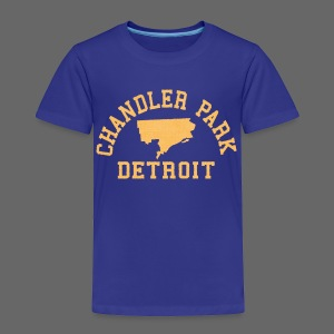 Chandler Park, Detroit - Toddler Premium T-Shirt