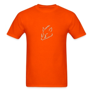 Men's T-Shirt - Hog Hunter, Hunt, Hunting, Hog, Get Bayed Outfitters