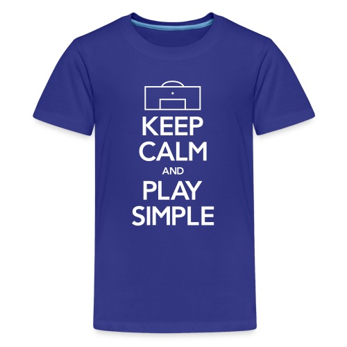 Play Simple Youth Tee (Fundraising Item) - Kids' Premium T-Shirt