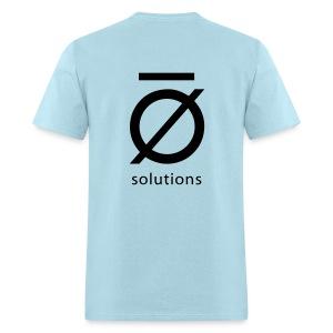 Standard Fit Tee Shirt with black logo - Men's T-Shirt