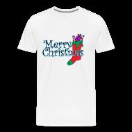 T-Shirts ~ Men's Premium T-Shirt ~ Merry Christmas