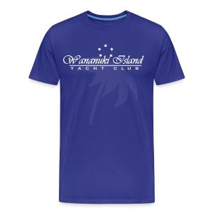Wananuki Yacht Club - Men's Premium T-Shirt