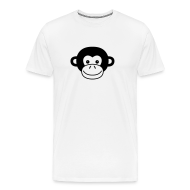 T-Shirts ~ Men's Premium T-Shirt ~ Monkey Face