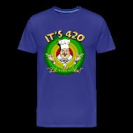 T-Shirts ~ Men's Premium T-Shirt ~ It's 420 - Let's all Toke!