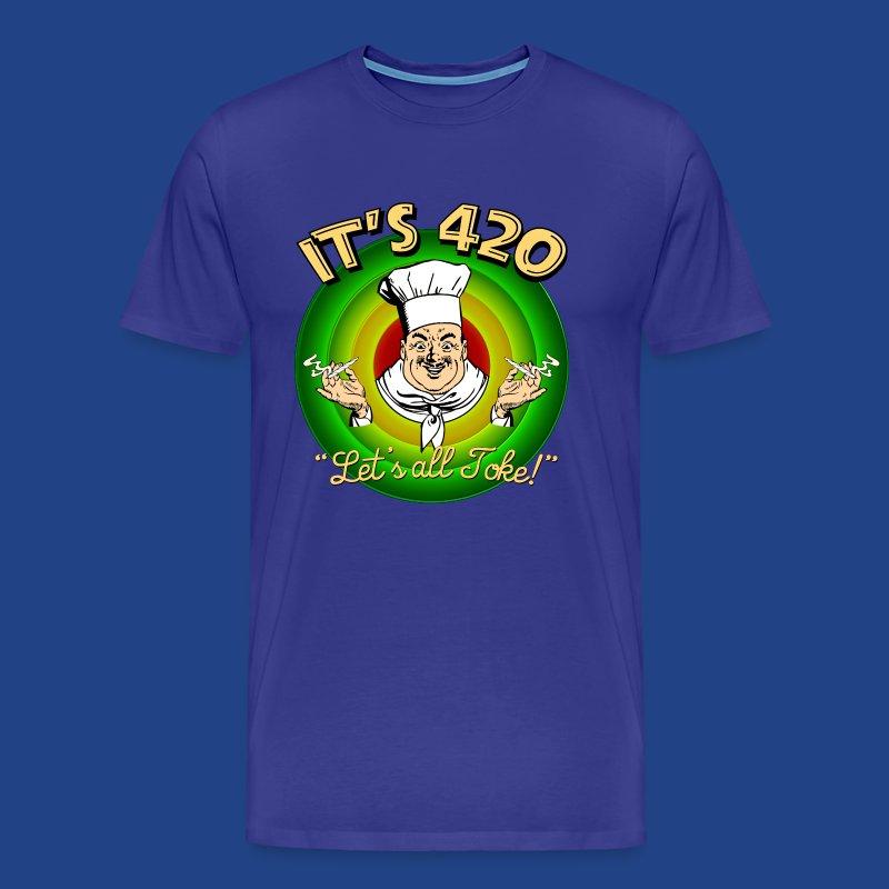 It's 420 - Let's all Toke! - Men's Premium T-Shirt