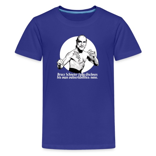 Bruce Schneier Fact - Kids' Premium T-Shirt