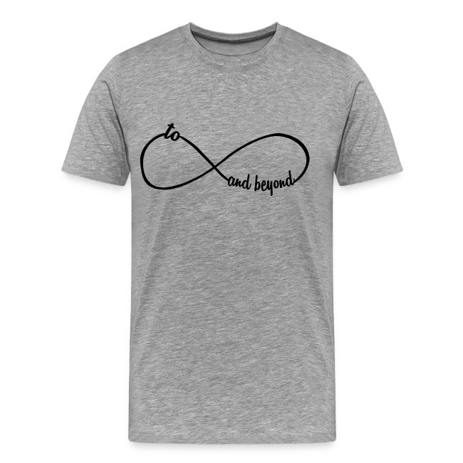 ad08cf47fa omadesign   To Infinity And Beyond - Mens Premium T-Shirt