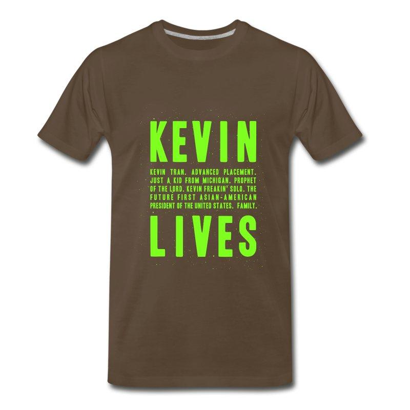 Kevin Lives (Design by Anna) - Men's Premium T-Shirt