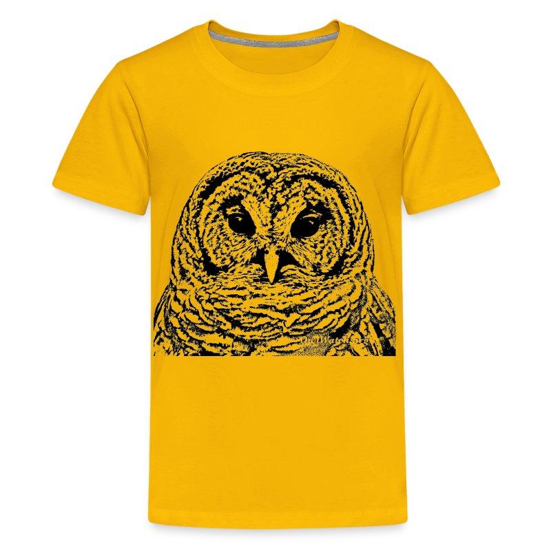 Mr Barred Owl Dec 2013 - Kids' Premium T-Shirt
