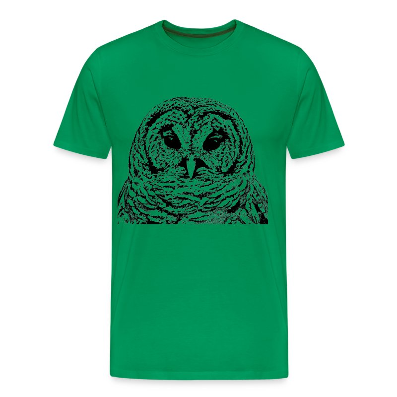 Mr Barred Owl Dec 2013 - Men's Premium T-Shirt