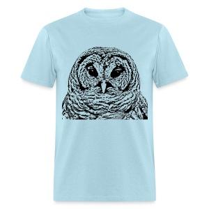 Mr Barred Owl Dec 2013 - Men's T-Shirt