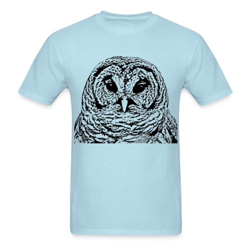 Mr Barred Owl Dec 2013 - Men's T-Shirt